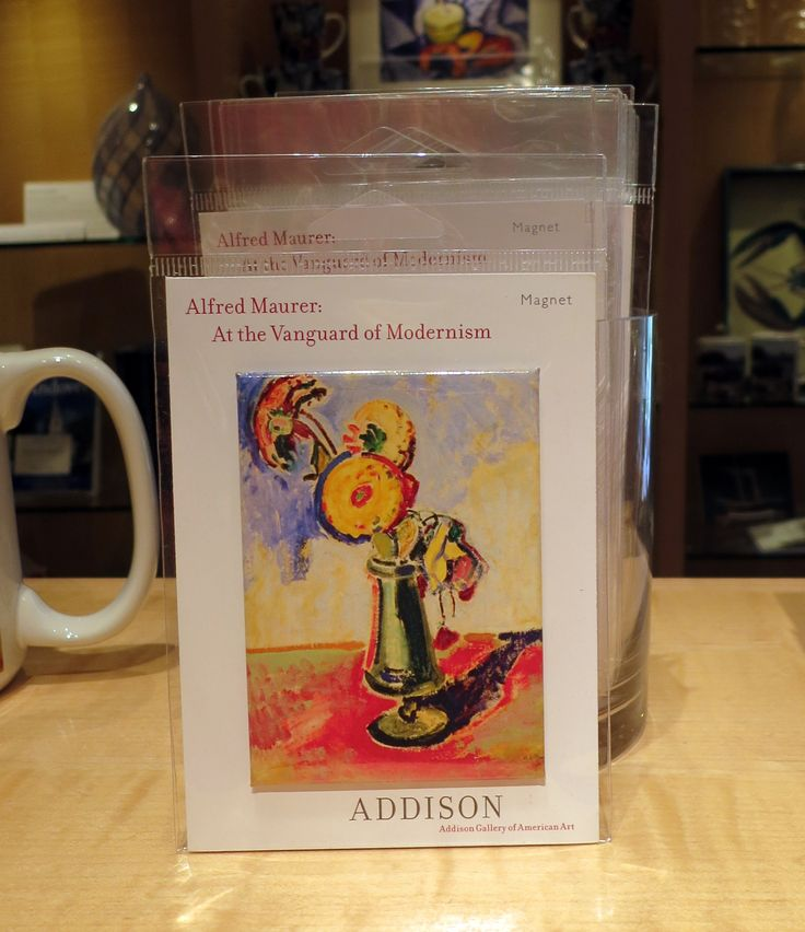 Magnet featuring work from Alfred Maurer: At the Vanguard of Modernism | $4 each