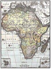 Gambar Peta Dunia Lengkap - Afrika