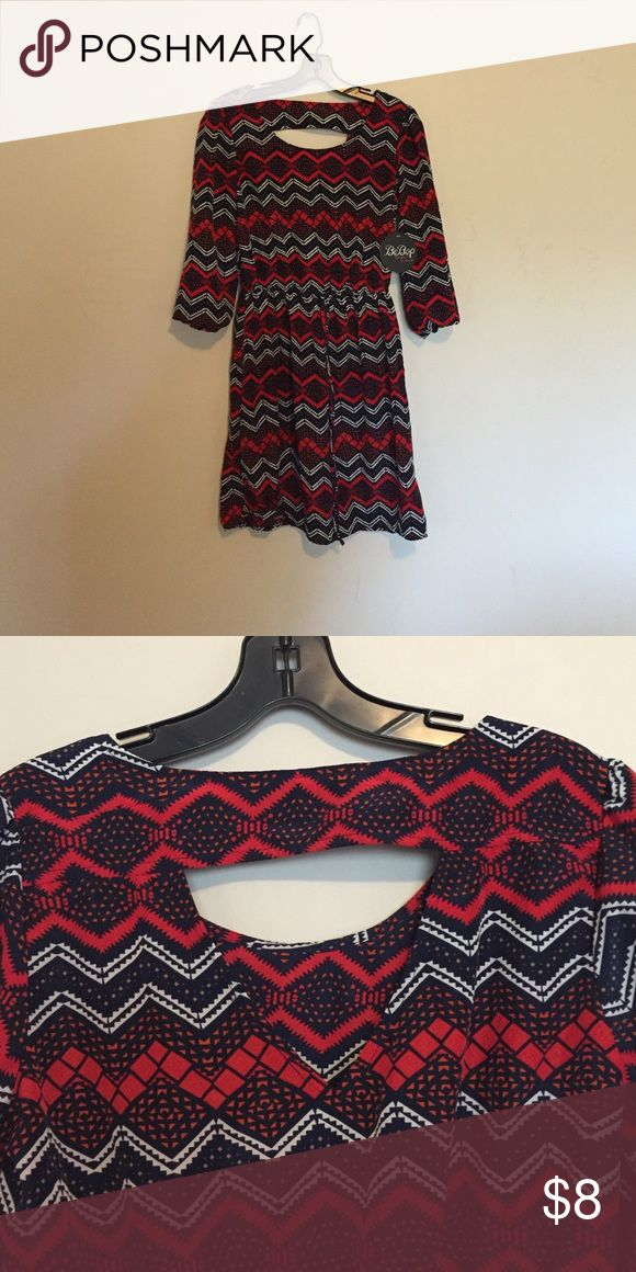 Junior small cute long sleeve dress Nwt. Just a little too long to be cute on my 5 foot 2 daughter BeBop Dresses Long Sleeve