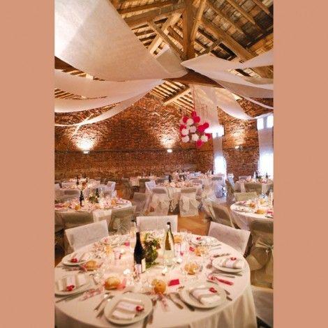 Tenda decorativa per sale di nozze - 15,50€ per 12 metri