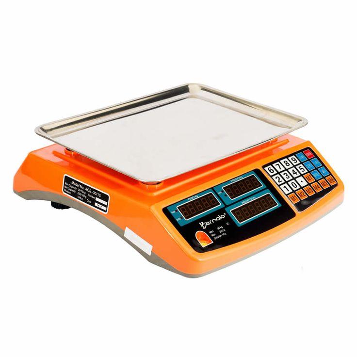 Balanza Digital Liquidadora Bernalo con Capacidad Máxima de 30 kg.