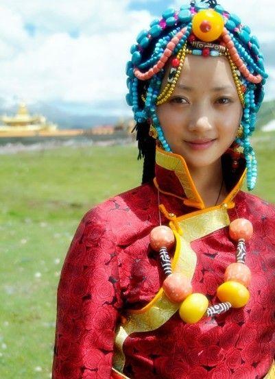 tibet. Belleza exótica, para los occidentales.