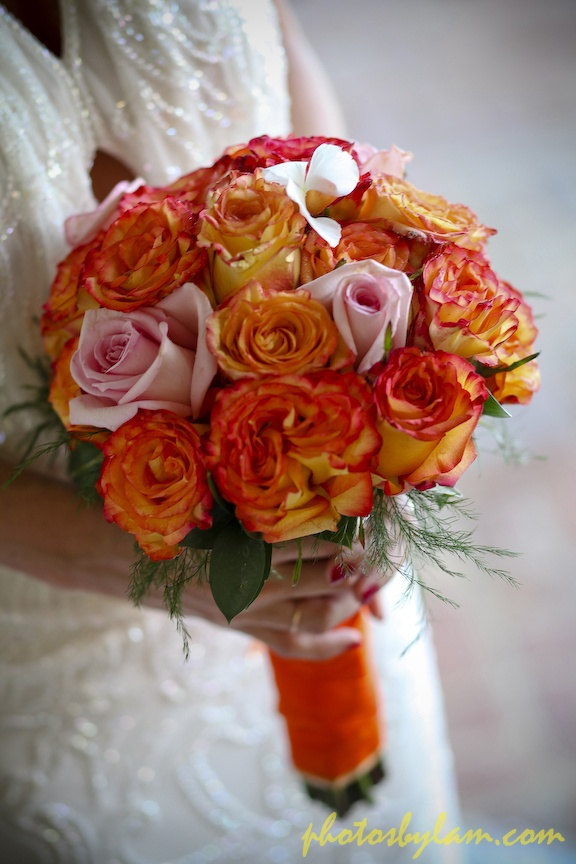 All Roses Bridal Bouquet By Helen G