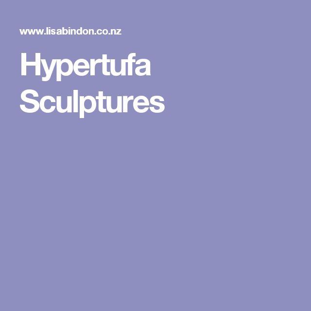 Hypertufa Sculptures