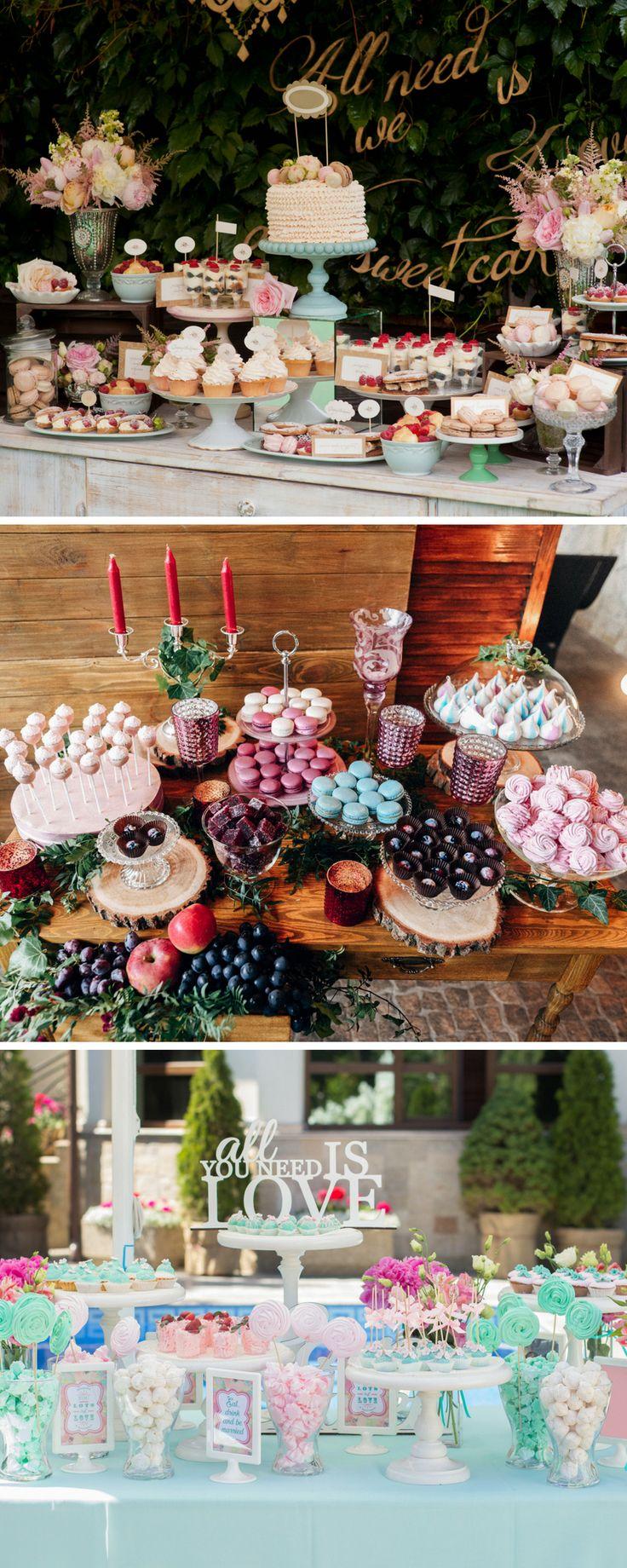 hochzeitsbar  hochzeit bar ideen  weddingbar  candy bar