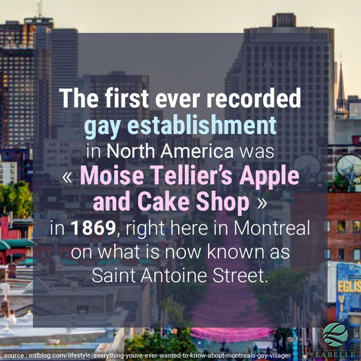 Fun fact about Le Village in Montreal!
