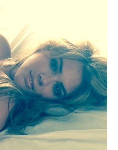 Kate upton! That makeup! #love