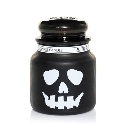 Yankee Candles | Yankee Candle | Witches Brew Skull Medium Jar