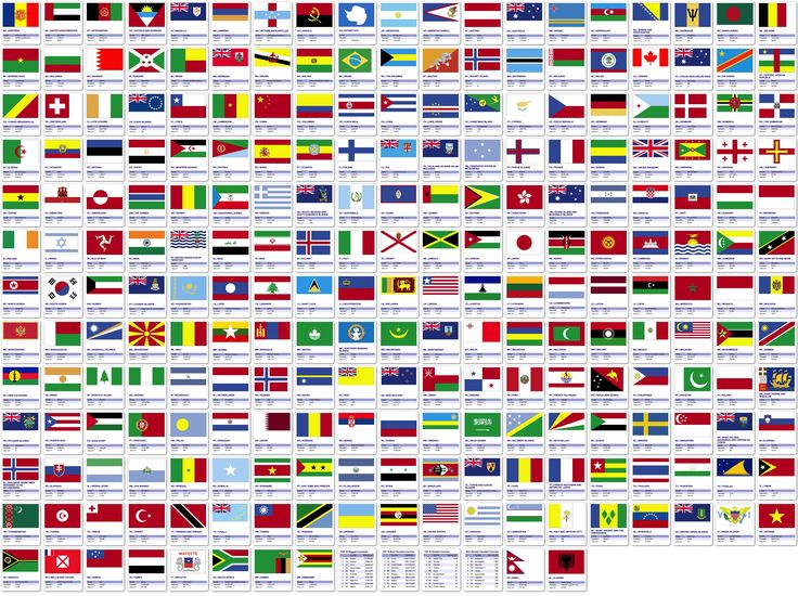 world flag banner