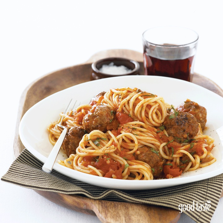 Whether you make it and eat it (ready in less than 30 minutes!) or make ahead for a freezer meal, everyone's going to love this fast, fab meatball dinner. ~ recipe Kerrie Sun ~ pic Steve Brown/NewsLifeMedia