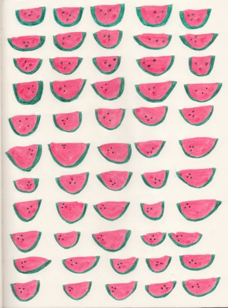 Watermelons - i think this is by someone named taylor.