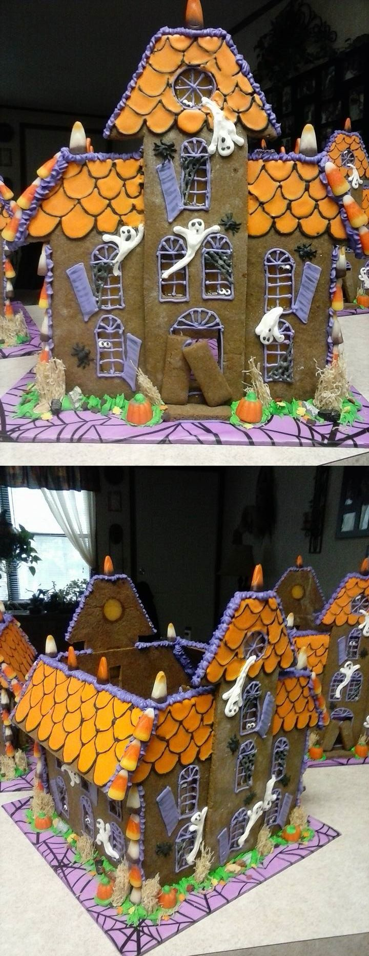 Halloween gingerbread house 2015