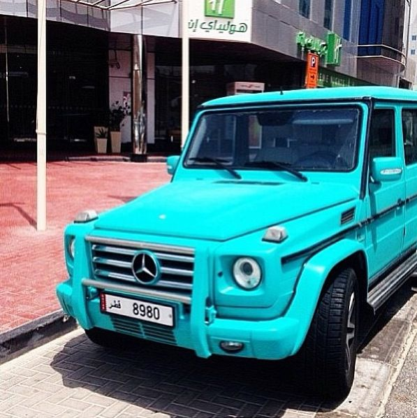 Limited edition mercedes g wagon be mine cars for Mercedes benz baby g class