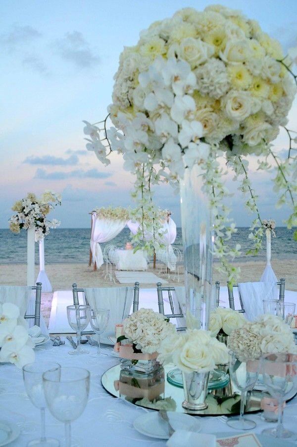 Decoración perfecta para una boda en la playa (Yazmín De La Mora )
