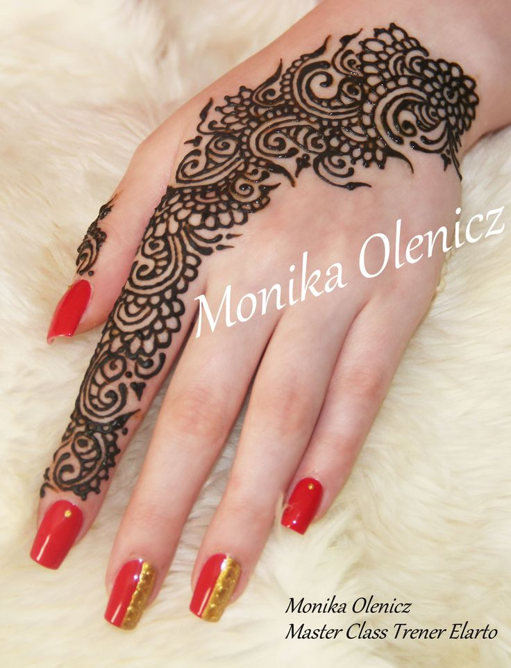Medhikā –zdobienie ciała henną