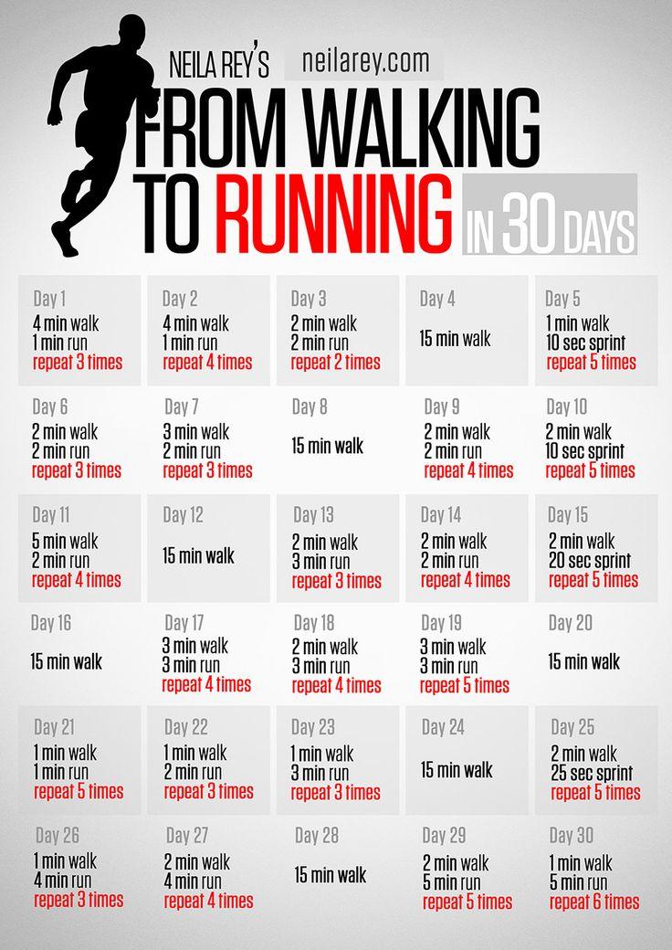 From Walking to Running in 30 days - Se ve bastante gradual para una RE begginer como yo :)