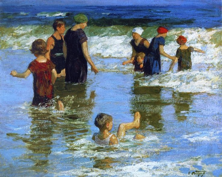 Summer Pleasures by Edward Potthast