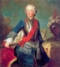 Frederick the Great - Antoine Pesne