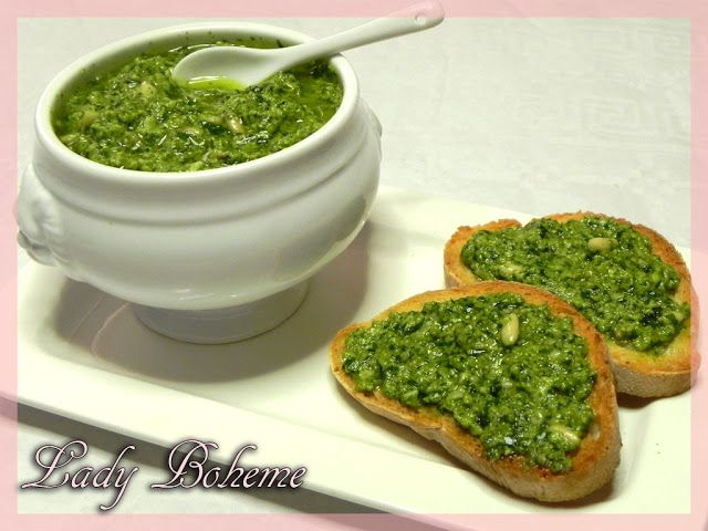 Italian Food - Salsa di rucola
