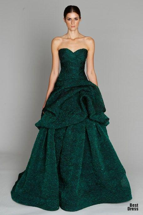 Catherine Zeta-Jones wore this and wore it well. (Monique Lhuillier)