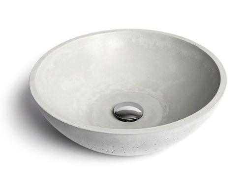Aufsatzwaschbecken / rund / aus Beton CIRCUM40 Urbi et Orbi