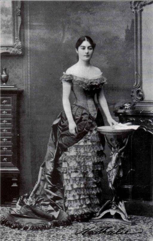 Serbian queen  Natalia Obrenovic