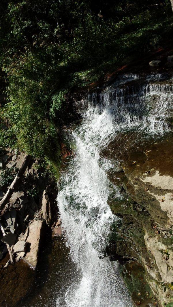 Grindstone Falls on the Bruce Trail near Hamilton, Ontario