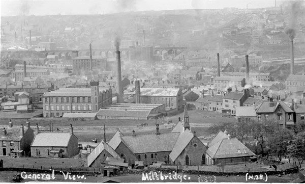 Milnsbridge, 1910. Source: Kirklees Image Archive