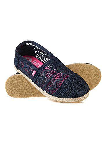Ideal Shoes , Sandali donna, blu (Marine), 36 EU