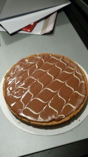 "Caramel shortcake alias ""Twix-taart"", recept van Laurasbakery.nl"