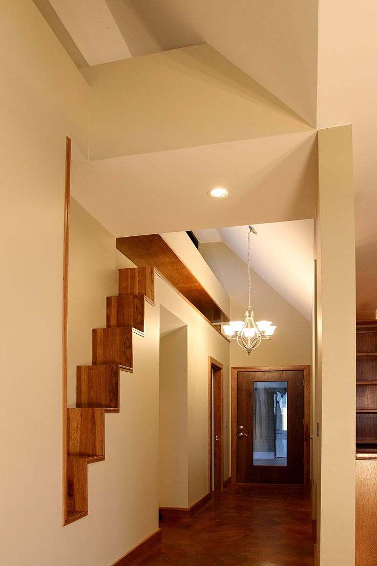 stairway cat stairs that lead up to the upstairs bookshelf stair banisters (through the floor)! WOULD BE AN AWESOME AND SAFE SECRET PASSAGE FOR KITTIES AND KIDS WOULD BE NUTS OVER