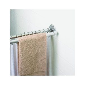 Mounted Double Shower Curtain Rod