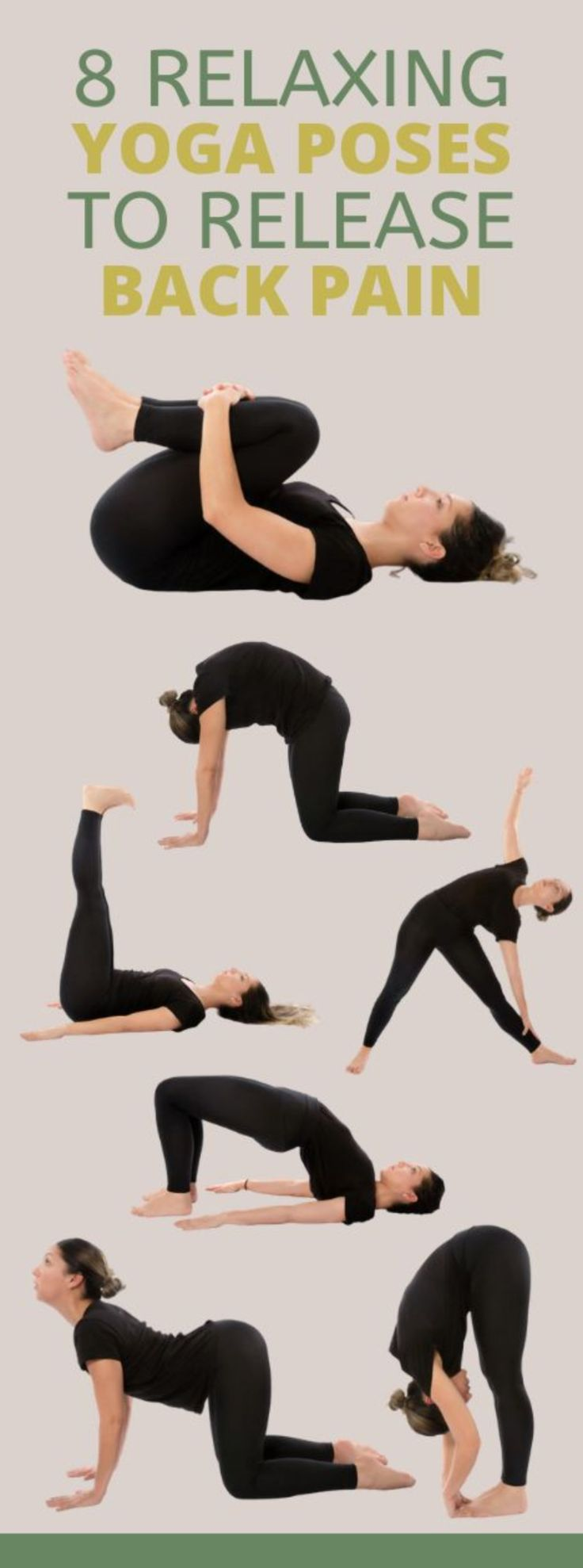 Yoga Poses For Back, Yoga For Back Pain, Easy Yoga Poses, Lower Back Pain Exercises, Back Pain Stretches, Morning Yoga Stretches, Morning Yoga Routine, Body Stretches, Stretching Exercises