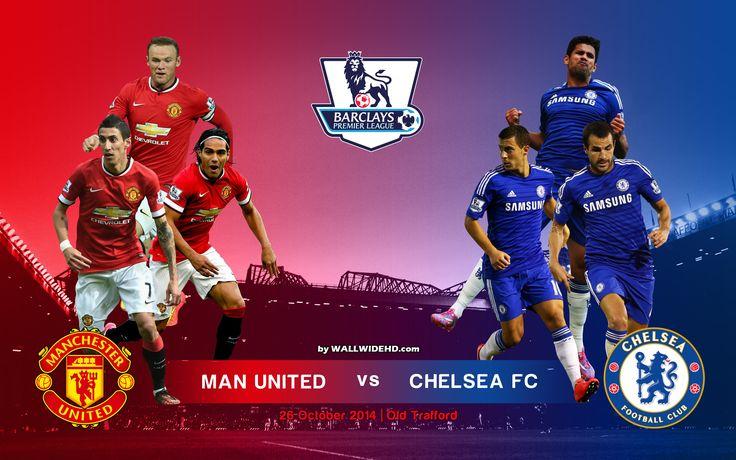 itucasino - Prediksi Skor Manchester United vs Chelsea 26 Oktober 2014 Liga Inggris