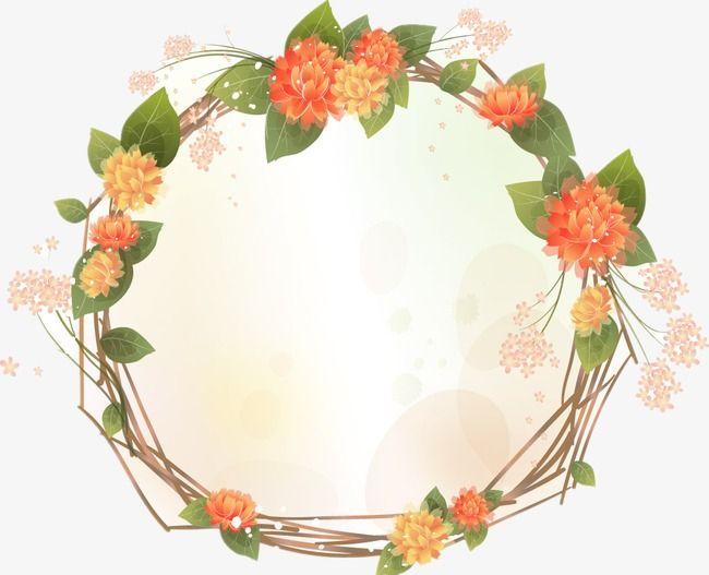 Flower Border Flower Frame Flowers Png Image Blumen Rander Blumenrahmen Hochzeitsplanung