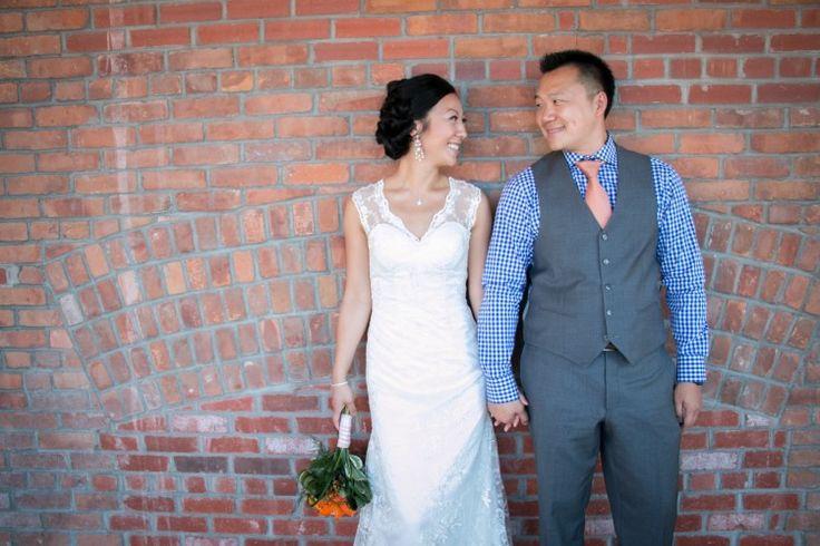 Bricks. Wedding photography in Kelowna BC. Laurel Packinghouse.