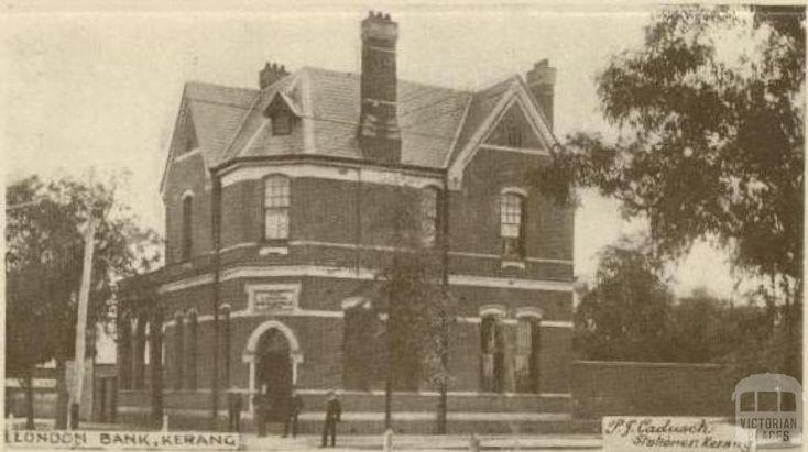 London Bank, Kerang, 1922
