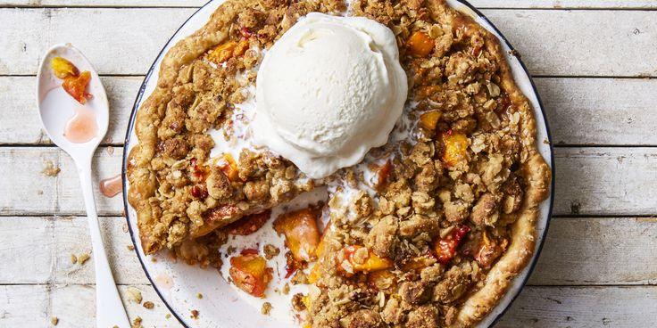 Peachy Pecan Crumb Pie - GoodHousekeeping.com