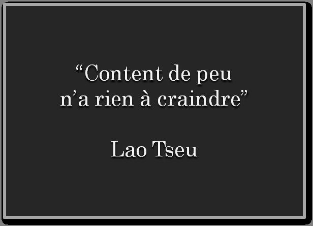 Ma belle mère pourrait s'en inspirer...... mais j'ai aussi pris ma part du problème ... merci Lao Tseu t'es un chef   Lao Tseu