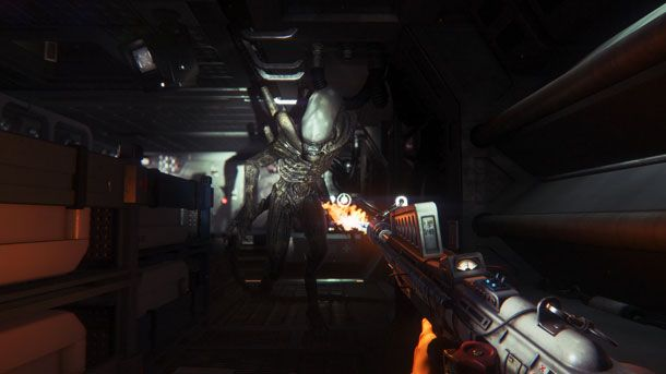 A Deadly Game Of Hide And Seek - Alien: Isolation - PlayStation 4 - www.GameInformer.com