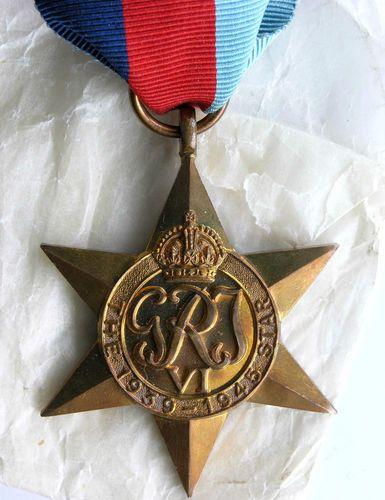 Z15 WWII WW2 World War Two British Armed Forces Bronz 1939 1945 Star Medal Mint   eBay