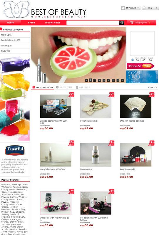 ishop4 - great e-commerce solution to promote you brands and products. http://www.isoftvalley.com/servers/iShop4/index.aspx
