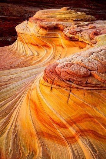 The Wave, Vermillion Cliffs National Monument, Arizona.