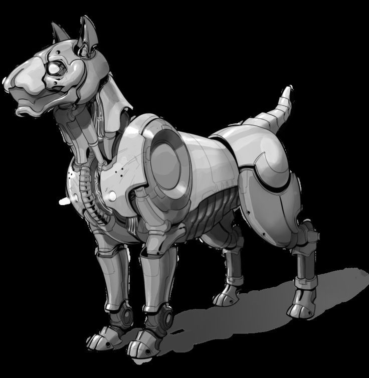 Guard dog robot by *BaranyaTamas on deviantART: