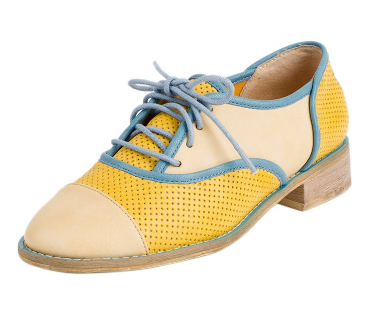 yellow & blue oxfords $59 from Le Bunny Bleu: Blue Bunnies, Two Colors Oxfords, Oxfords 59, Fashion Shoes, Blue Oxfords, Twocolor Fashion, Colors Of Oxfords Blue, Le Bunnies, Yellow Two Colors