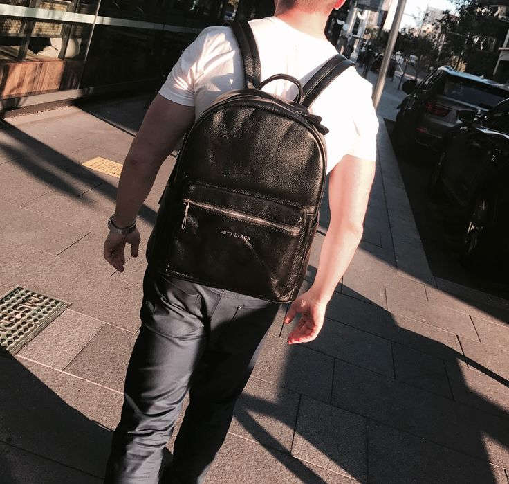 Jett Pack Leather Back Pack.Free Shipping Australia Wide. #Jetsetter #BackPack