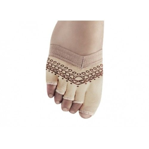 Bloch Soleil Foot Glove, with prints