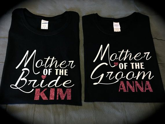 MOTHER OF THE Bride/Groom t-shirt tank top by GlitterGirlsShopLLC