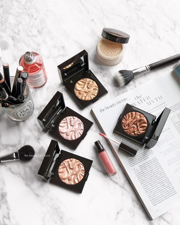The Beauty Look Book: Laura Mercier Face Illuminator Powders - Devotion, Indiscretion, Addiction and Seduction