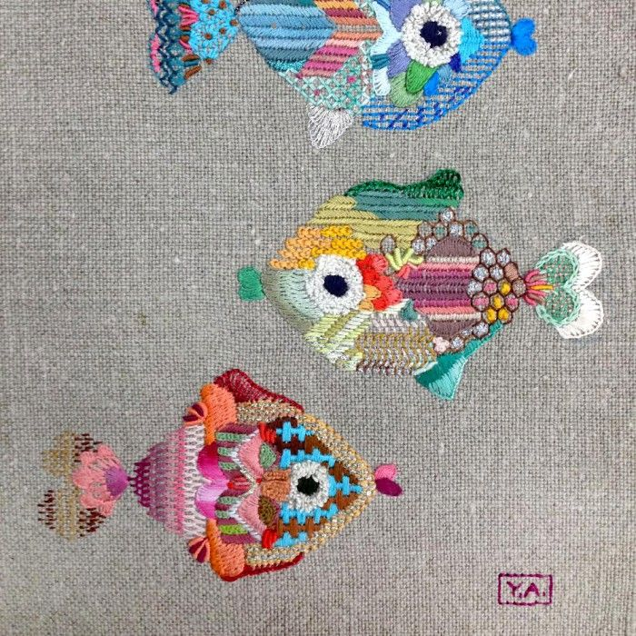 Taller de tres días (9 horas). NIVEL AVANZADO. Bordaremos un maravilloso PEZ. en MADRID (16/09/2015) – YOLANDA ANDRÉS EMBROIDERY, apúntate online en The Hobby Maker